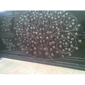 Ворота в'їзні розпашні BramaMaster ковані