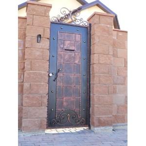 Ворота в'їзні відкатні BramaMaster ковані